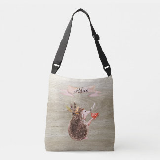 Coffee Time Porcupine Crossbody Bag