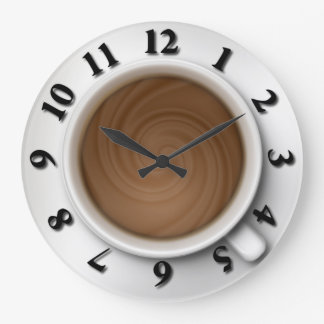 Coffee Time Wallclock