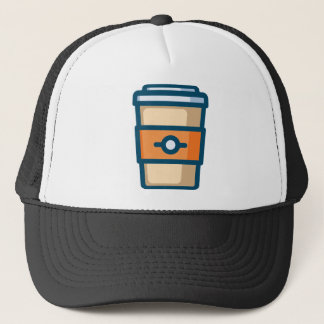 Coffee to go trucker hat