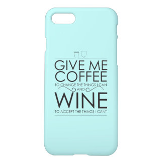 Coffee to wine iPhone 8/7 case