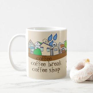 Coffee town coffee mug
