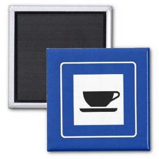Coffee Traffic Sign Magnet