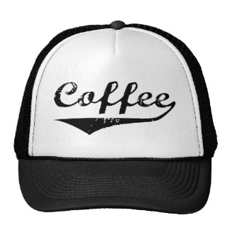 Coffee Trucker Hat