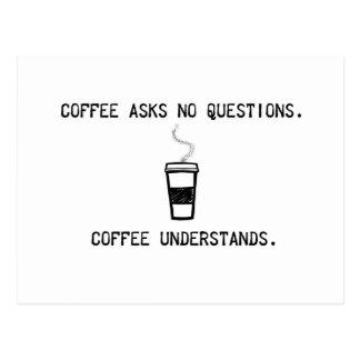 Coffee Understands Postcard