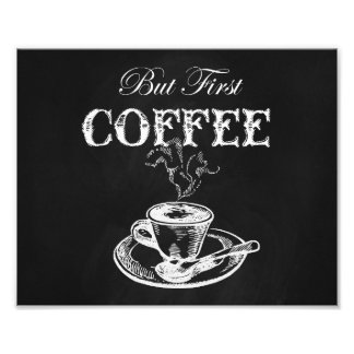 Coffee Wall Art Chalkboard Photo