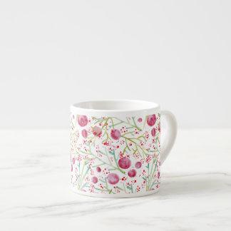 Coffee Watercolors Espresso Cup