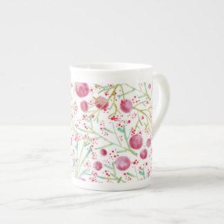 Coffee Watercolors Tea Cup
