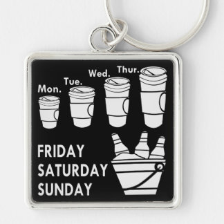 Coffee Week & Beer Weekend Keychain