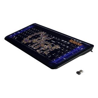 Coffee Wireless Keyboard