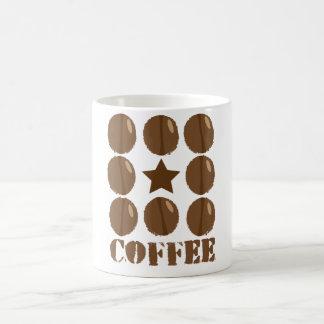 Coffee with beans mug