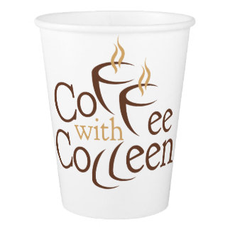 Coffee with Colleen paper cup