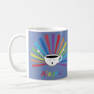 Coffee with feelings coffee mug