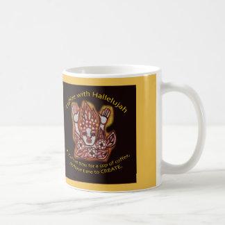 Coffee with Hallelujah Coffee Mug