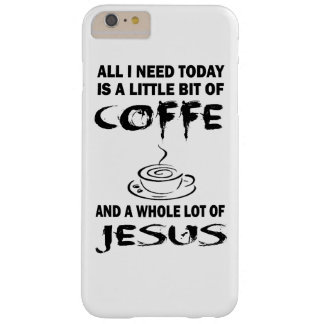 Coffee with Jesus Barely There iPhone 6 Plus Case