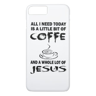 Coffee with Jesus iPhone 7 Plus Case