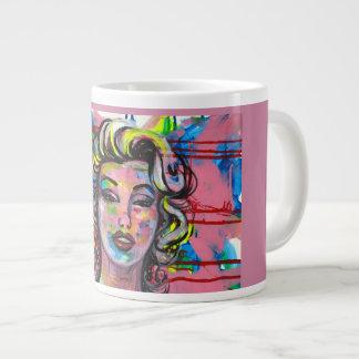 COFFEE WITH MARILYN GIANT COFFEE MUG