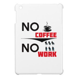 coffee work iPad mini cover