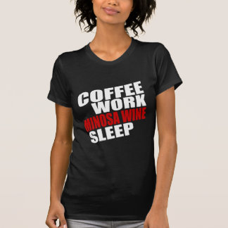 COFFEE WORK MINOSA WINE SLEEP T-Shirt