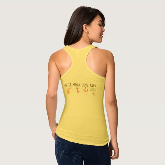 Coffee Yoga Love Life (Both Sides) Tank Top