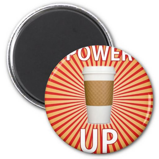 Coffee - Your Super Power! Fridge Magnets