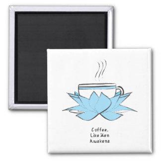 coffee zen magnet