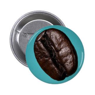 CoffeeBean-Button 2 Inch Round Button