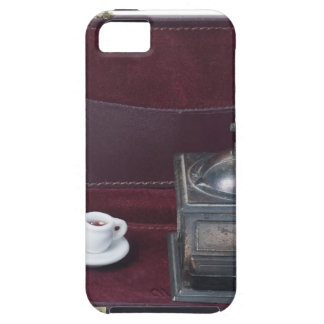 CoffeeGrinderInBriefcase082414 copy.png iPhone 5 Cover