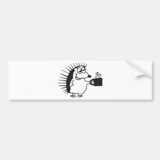 coffeehog bumper sticker