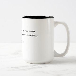 CoffeeMug PHP Class Two-Tone Coffee Mug