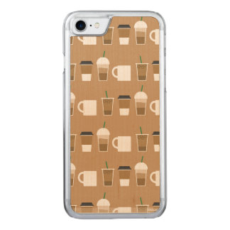 COFFEES TO GO Slim Maple iPhone 6/6s Carved iPhone 7 Case