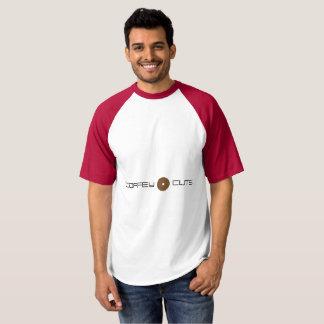 Coffey Cuts Baseball T-Shirt Digital Disc Design