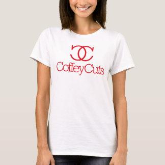 Coffey Cuts Women's T-Shirt Design 1 White