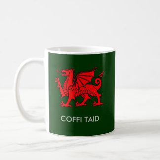 Coffi Taid - Grandad's Coffee in Welsh Coffee Mug