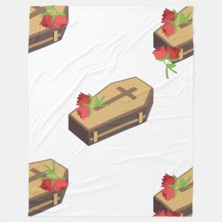 coffin emojis blanket
