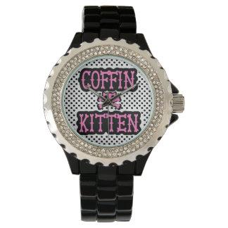 Coffin Kitten Watch