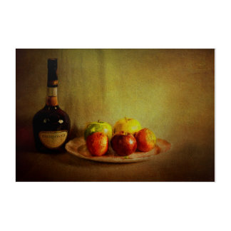 Cognac and Fruits Acrylic Print