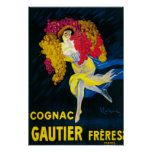 Cognac Gautier Promotional PosterFrance Print