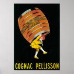 Cognac Pellisson Promotional PosterFrance Poster