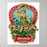 Cognac Vieux Grand Champagne Poster