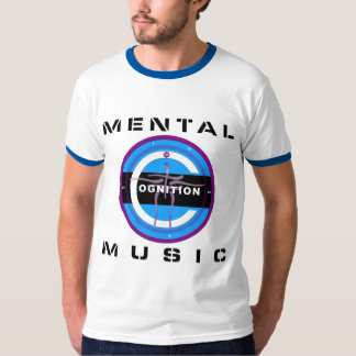 COGNITION MENTAL MUSIC BLACK T-Shirt