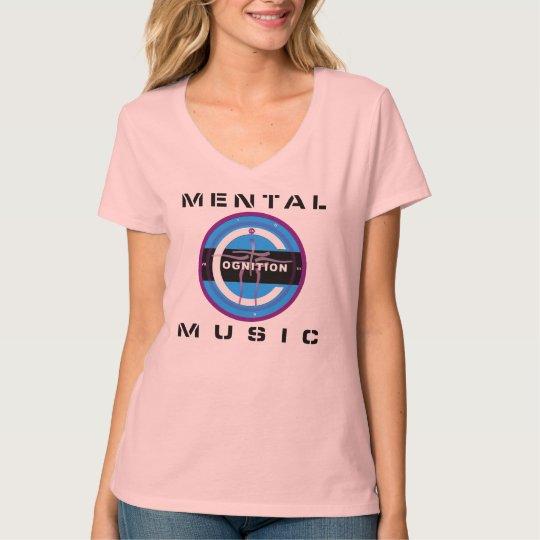 COGNITION  MENTAL MUSIC PINK T-Shirt