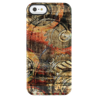 cogs and gears steampunk mechanic parts uncommon clearly™ deflector iPhone 5 case