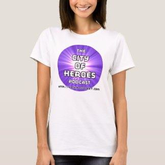 CoH Podcast Purple Woman's Cut T-Shirt