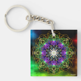 Coherence/Guardians of Galaxy Double-Sided Square Acrylic Keychain