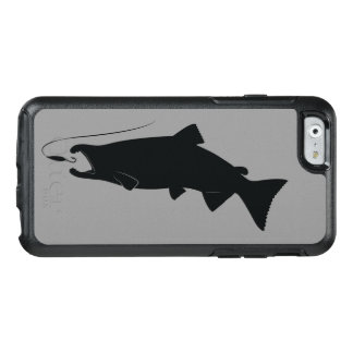 Coho Salmon in Silhouette OtterBox iPhone 6/6s Case