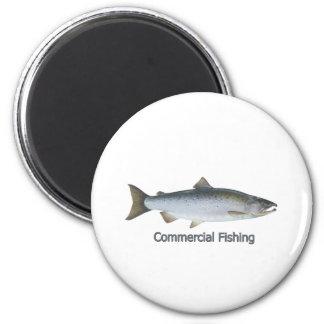 Coho Salmon Magnet