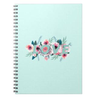 COIL Fleuri Spiral Notebook