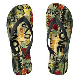 Coil graffity flip flops
