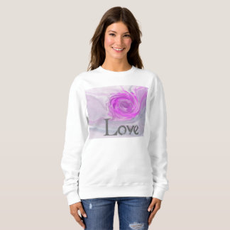 Coil Gris and Mauve Sweatshirt