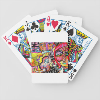coil melody by Sandra Silberzweig Bicycle Playing Cards